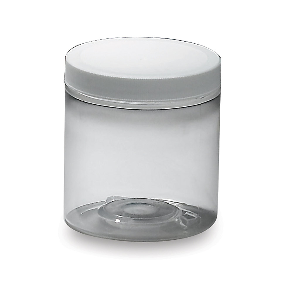 Plastic Jar - 4-Oz. Capacity - Lot of 12 (J4-70S/SW-4OZ)
