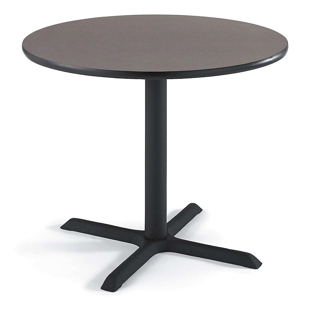 REGENCY Round Cafeteria Table - 36' Diameter - Gray