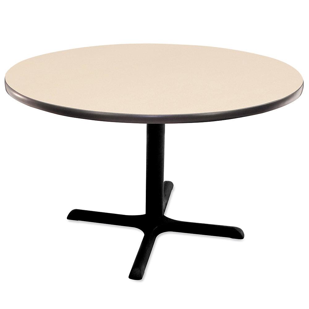 REGENCY Round Cafeteria Table - 48' Diameter - Beige