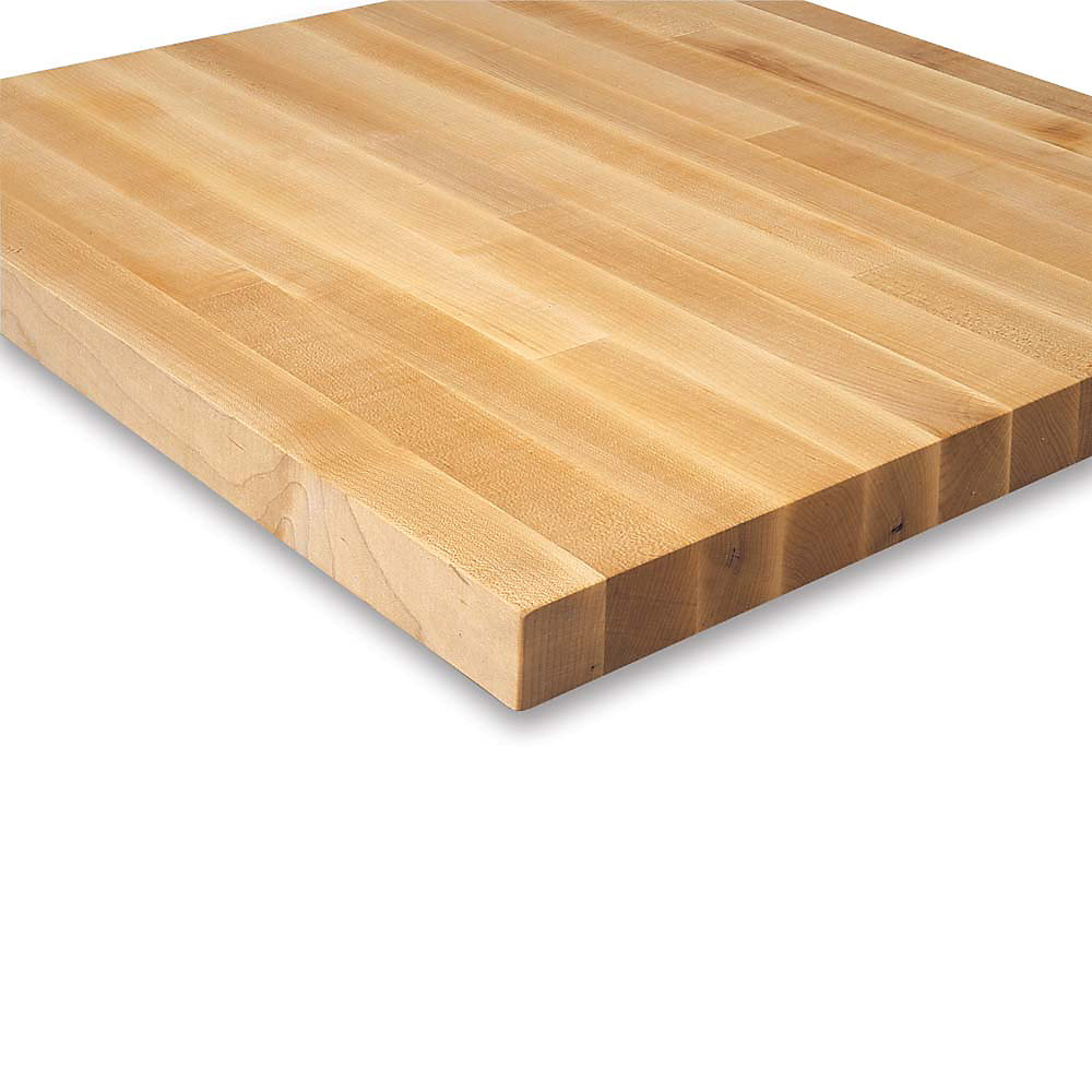 Relius solutions 1 1 2 butcher block maple top by john for Butcher block manufacturers