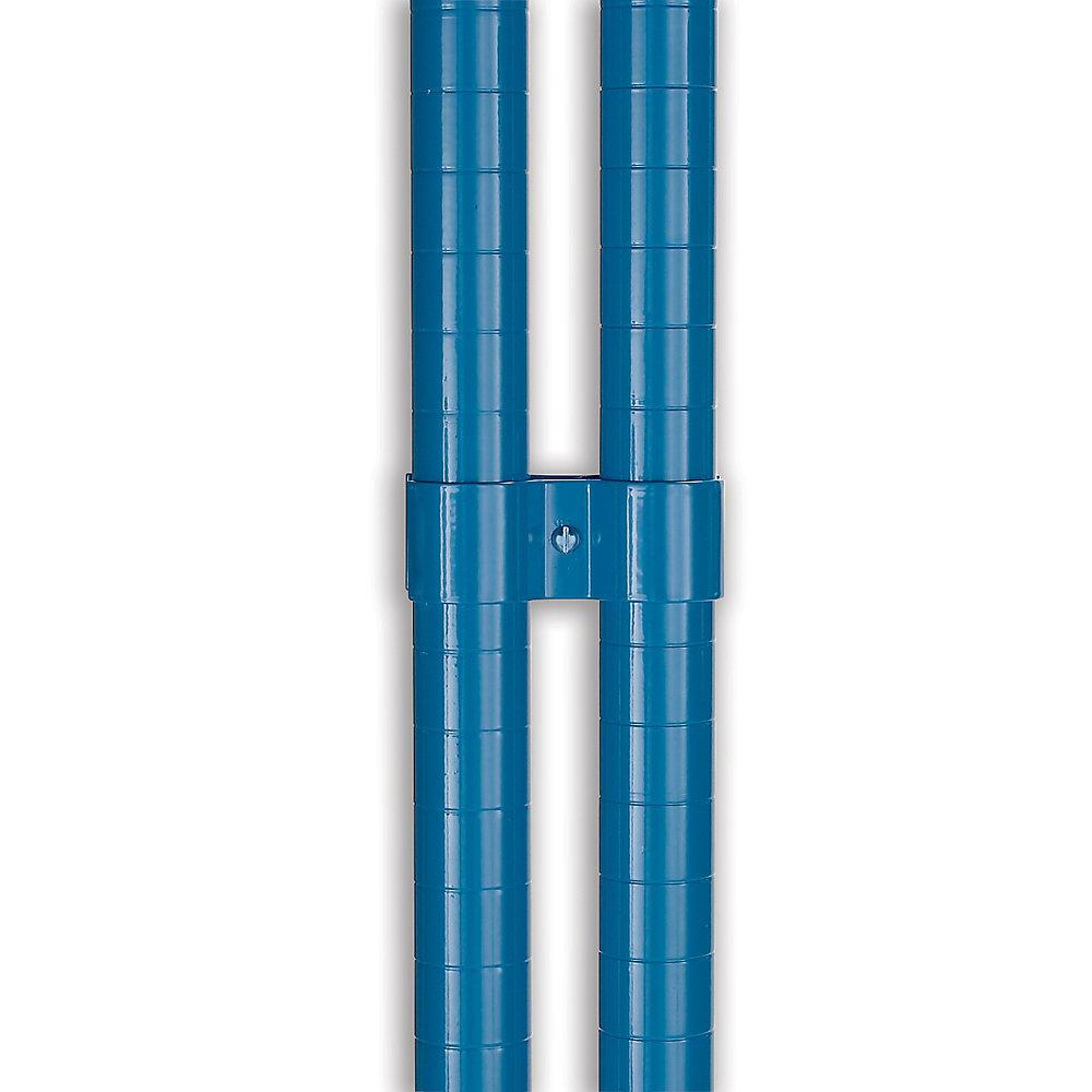 RELIUS ELITE. RELIUS ELITE Post Clamps for High-Capacity Wire Shelving - Chrome