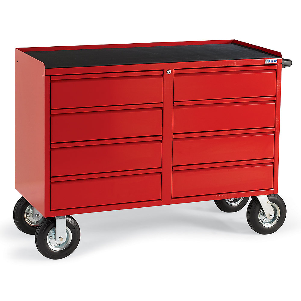 Relius Elite Eight-Drawer Bench Truck - 48X21x27