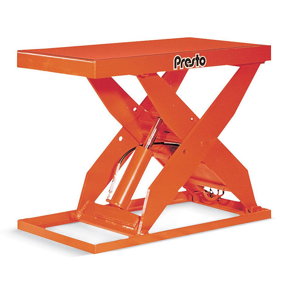 Presto Lift Tables : Presto stationary scissor lift tables phase volt