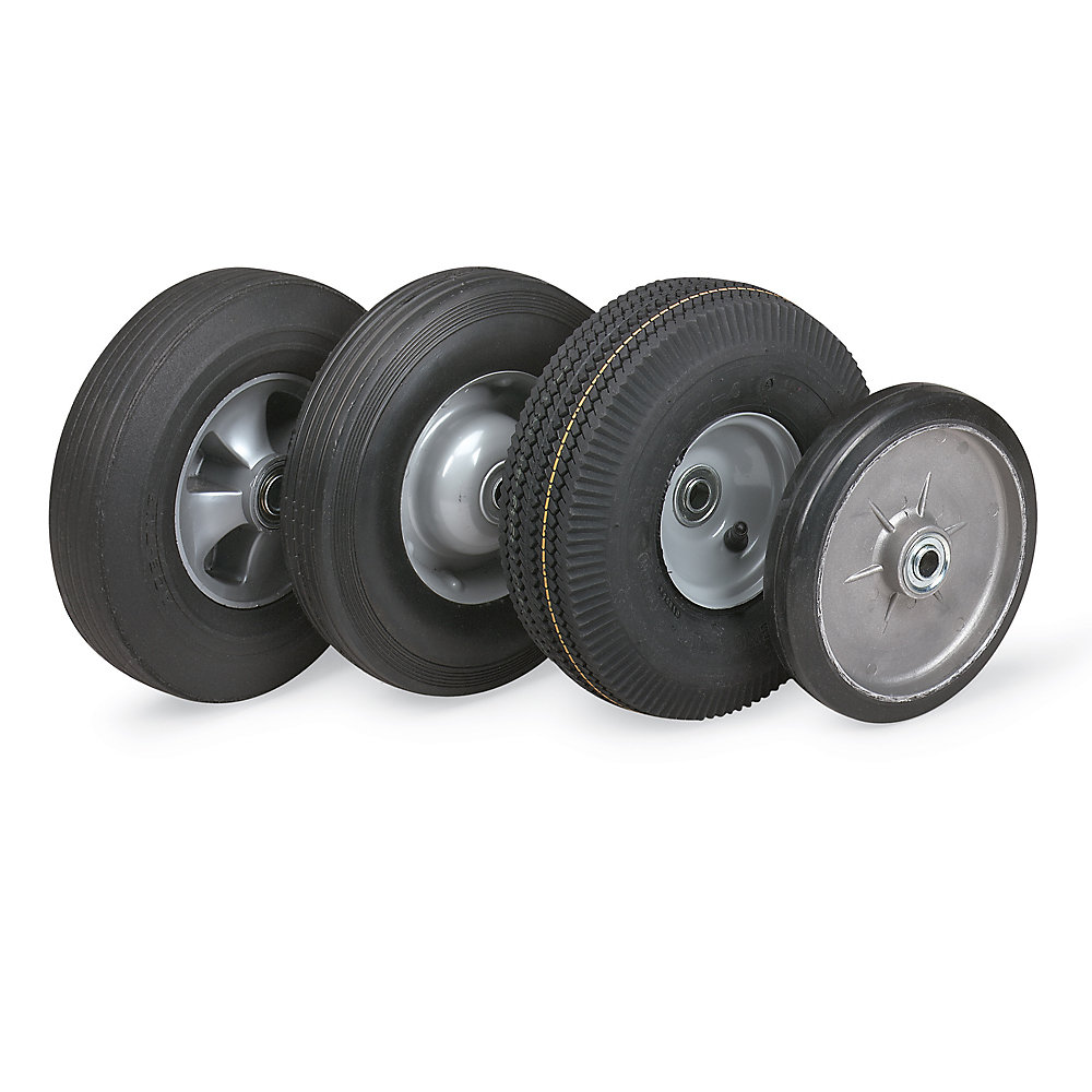 "Hand Truck Tires - Semi-Pneumatic - 10"" Dia. X2.75""W Wheel (R9577)"