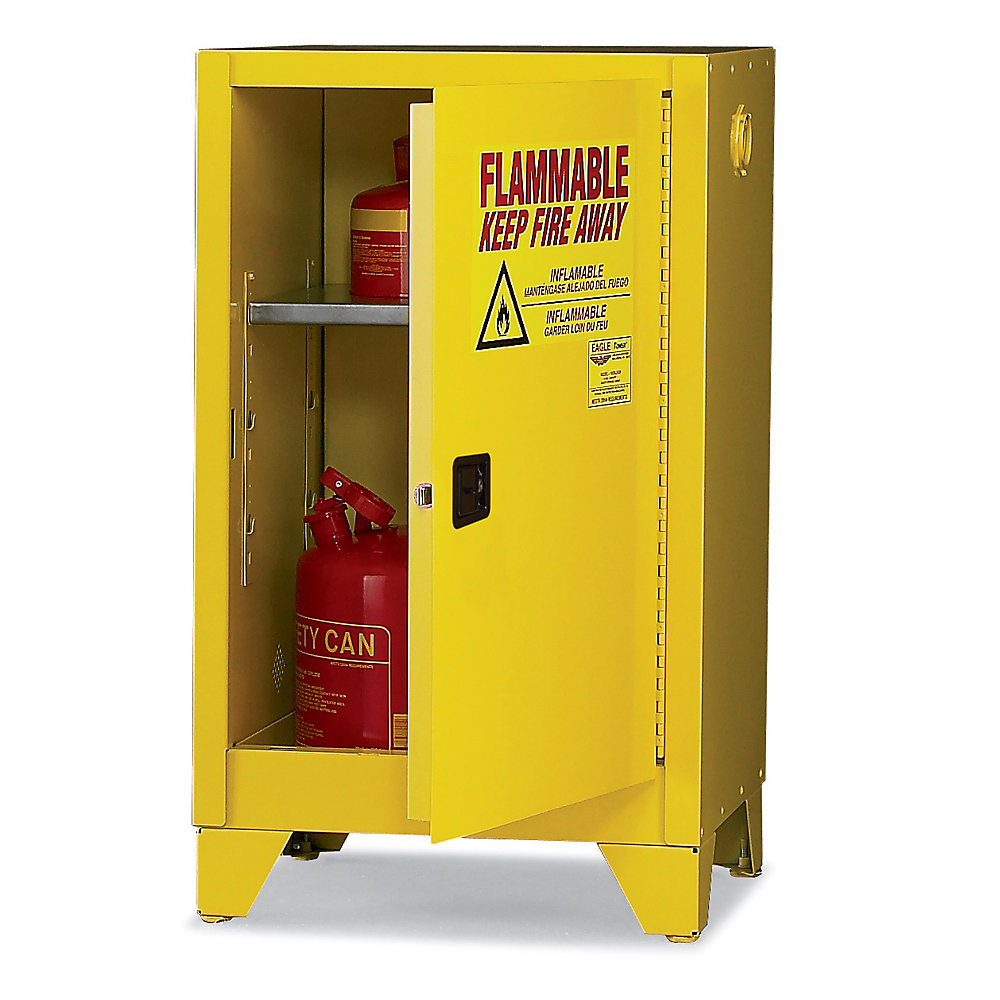 Yellow Flammable Cabinet Safety Cabinets Us Canada Warehouse Excelwarehousecom