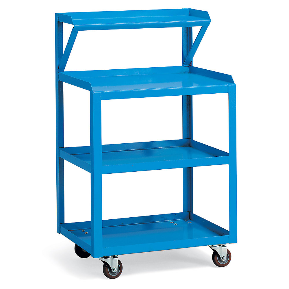 Relius Solutions Tool Cart With Instrument Shelf - 39