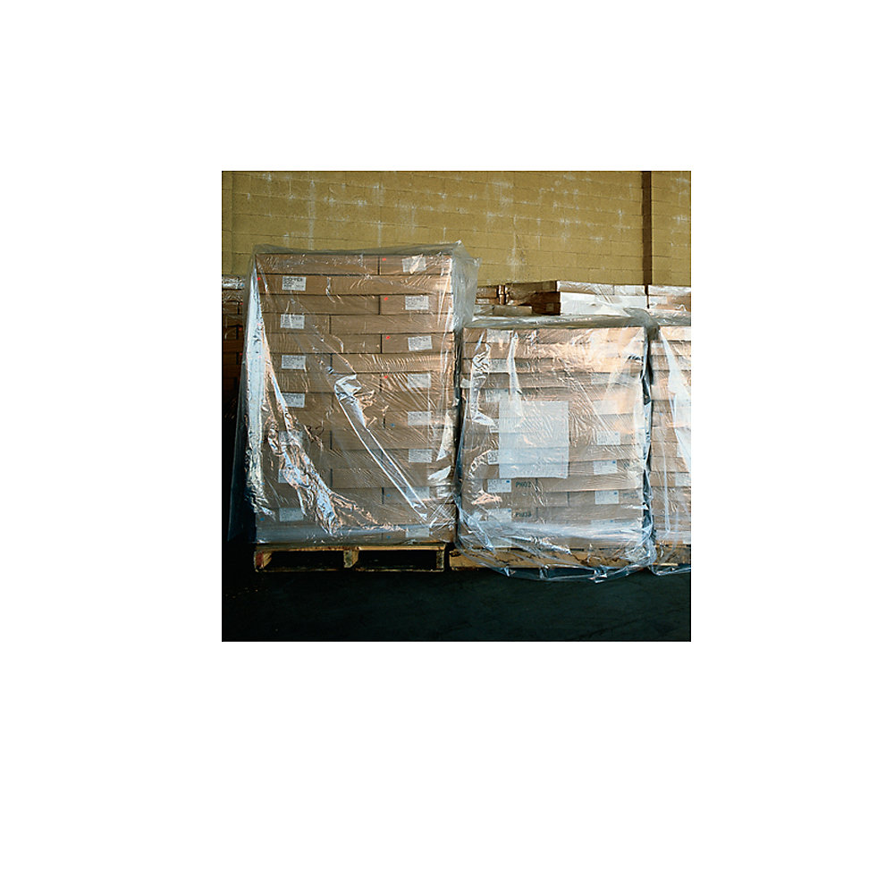 Clear Pallet Covers & Bin Liners - 42X42x96