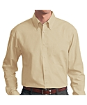 Mens Long Sleeve Lightweight Poplin Shirt
