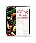 Single Pocket Cafe Menu Covers