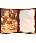 Double Pocket Cafe Menu Covers