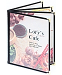 Book Four Cafe Menu Covers