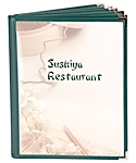 Book Six Cafe Menu Covers