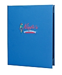 Double Pocket Casebound Menu Covers