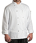 Chef Coat Classic Knot LS, Clearance