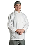 Chef Coat White Classic LS, Clearance