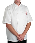 Chef Coat White Classic SS, Clearance