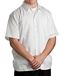 Cook Shirt White Snap, Clearance