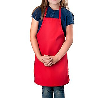 Color Childrens Bib Apron, Small