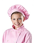 Girls Pink Chef Hat