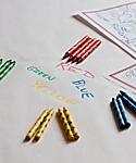Crayons, 500 non toxic