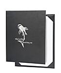 Single Pocket Bonded Leather Menu Cover