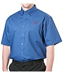 Mens Short Sleeve Lightweight Poplin Shirt