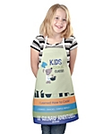 Kids Small Promo Apron Full Imprint