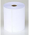 Single Ply Bond Paper Rolls, 3in x 150ft