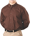 Mens Wrinkle Resistant Dress Shirt, Long Sleeve, Clearance