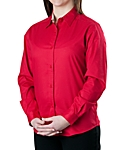 Womens Wrinkle Resistant Dress Shirt, Long Sleeve, Clearance