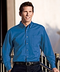 Mens Twill Shirt, Long Sleeve, Clearance