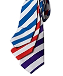 College Stripe Silk Neck Ties