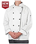 Men's Long Staple Cotton Chef Coat