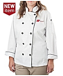 Women's Long Staple Cotton Chef Coat