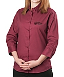 Port Authority® Ladies Qtr. Sleeve Shirt