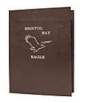 6 View Book Style Premium Plus Bonded Leather Casebound Menu