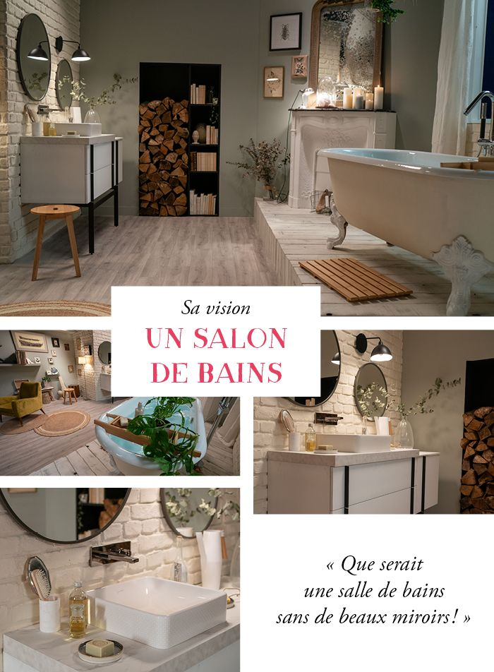 Salon de bains Zoe x Jacob Delafon