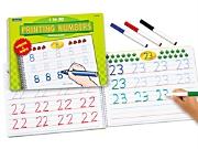 Printing Numbers Practice Book