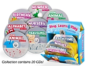 Sing, Learn & Play CD Collection