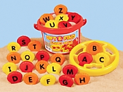 Sift & Find Alphabet Shells