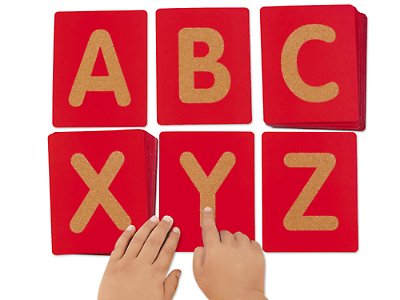 tactile letters uppercase at lakeshore learning