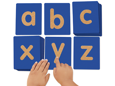 tactile letters lowercase at lakeshore learning