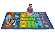 learning letters activity classroom carpets