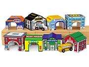 Lakeshore Community Garages Set Of 8