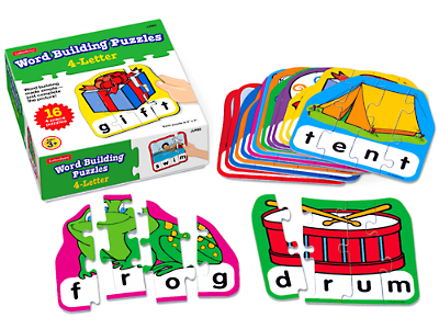 4 letter word building puzzles at lakeshore learning