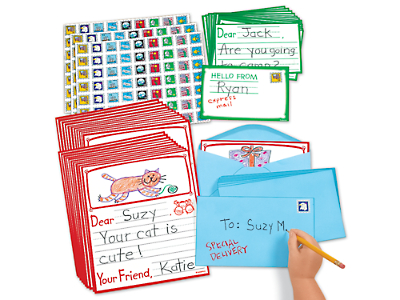letter writing kit at lakeshore learning