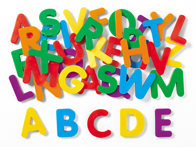 giant magnetic letters uppercase at lakeshore learning