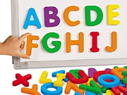 giant magnetic letters uppercase