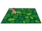 Attractive Natural Accents Leaves Classroom Carpets