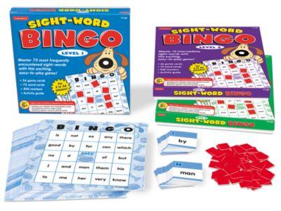 Sight Word Games Printable Sight-word Bingo Games
